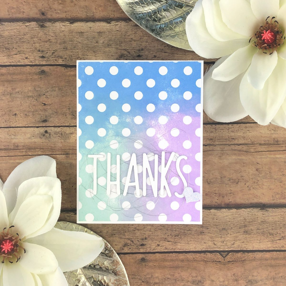 Color Inspiration – Thank you cards