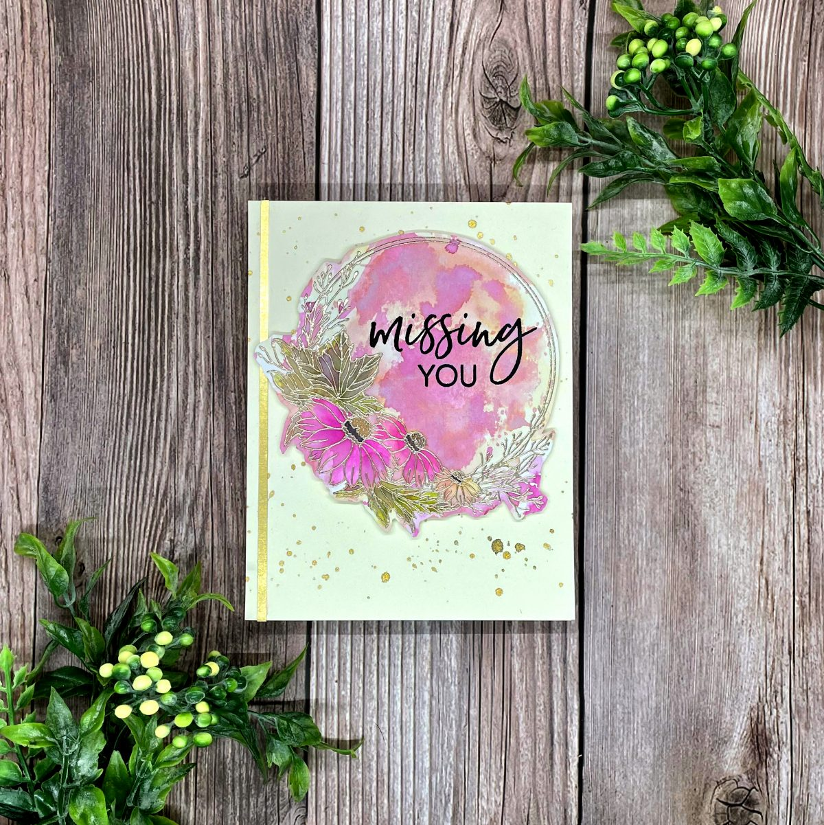 Missing You – Stamptember